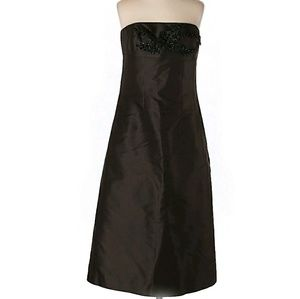 Ann Taylor Little Black Dress Womens Size 0